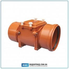 Механический канализационный затвор DN 200 с автоматической заслонкой