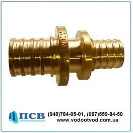 Патрубок - переходник (соединитель) редукционный для труб AQUAPEX d20 х d16 толщина стенки 2,0 мм (Испания)
